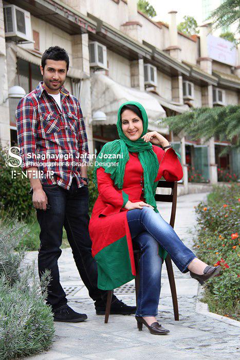 تصاویر جدید  فاطمه گودرزی و حسین مهری