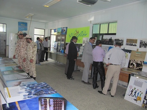 نمایشگاه عکس دفاع مقدس در منطقه انگوت