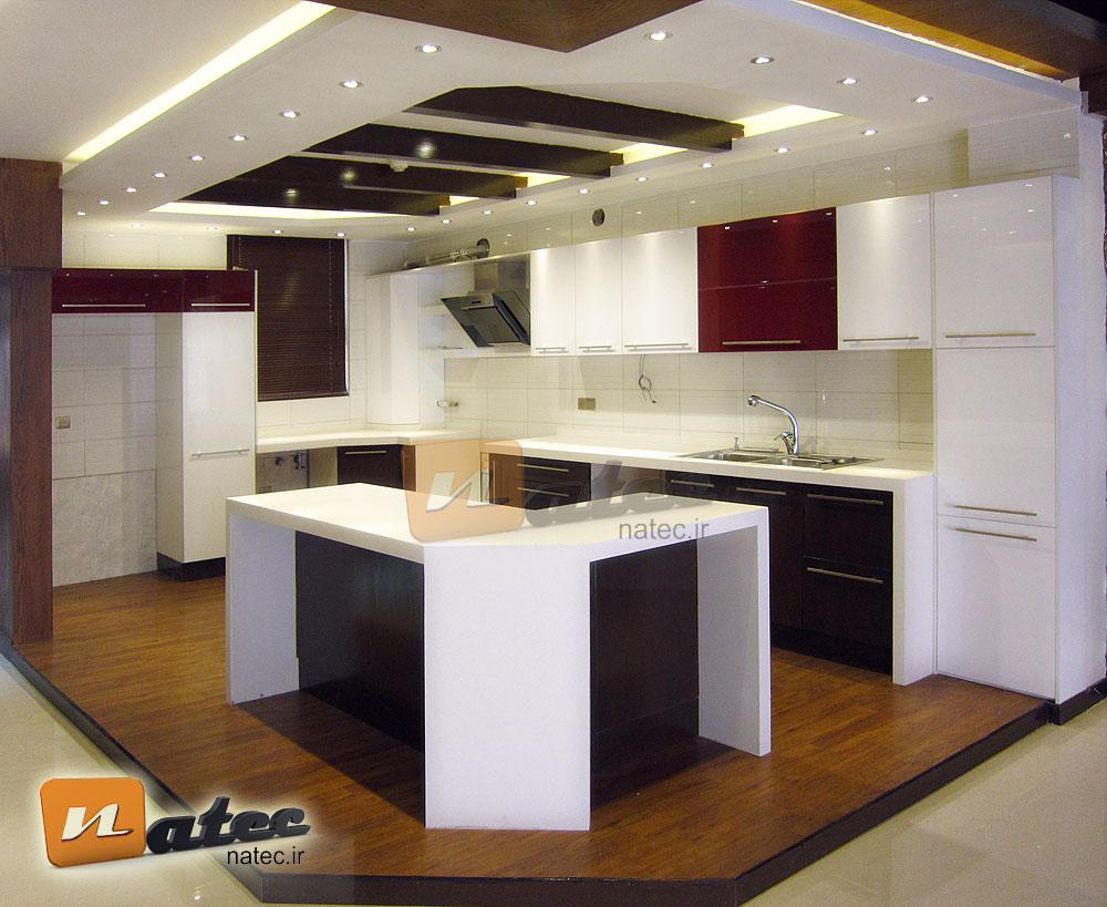 طراحی واجرای آشپزخانه از گروه طراحی ناتک در اصفهان