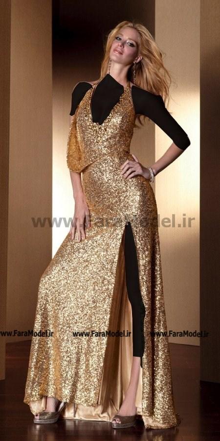شيک ترين مدلهای لباس شب زنانه