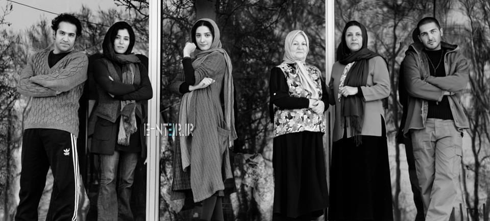 عکس جید اناهیتا افشار در فیلم برف