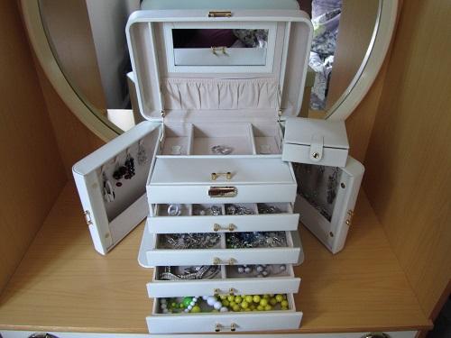 جعبه جای جواهرات