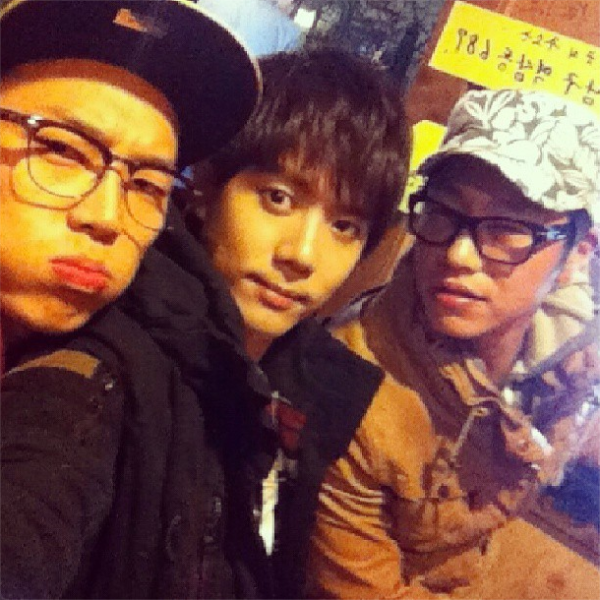 123 [Photo] Kim Kyu Jong with his friends [13.06.01]