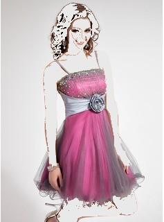 مدل لباس مجلسی كوتاه دخترانه 2013