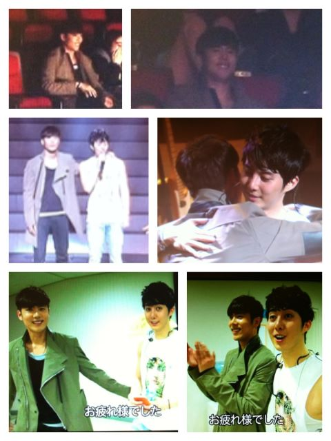 Credit LuvKyu501 [Photo] Kim Kyu Jong at Kim Hyung Jun THE FIRST Concert featured on THE FIRST DVD