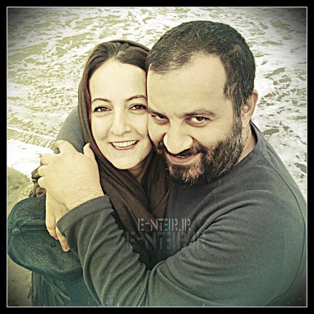 جدید ترین عکس شقایق دهقان و همسرش محراب قاسم خانی