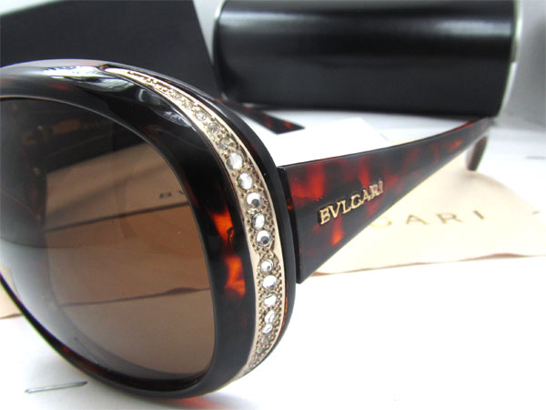 خرید عینک آفتابی Bvlgari BV22851B نگین دار بولگاری