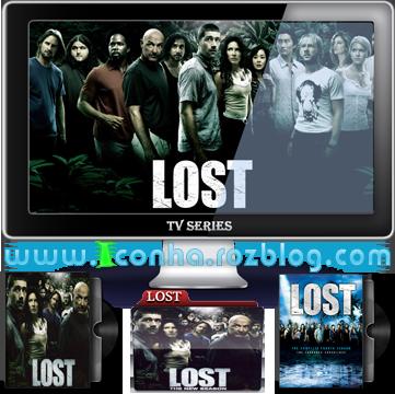 آیکن های سریال گمشده LOST