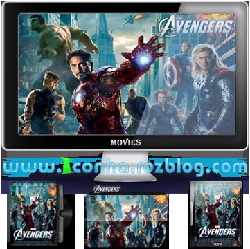 آیکن های فیلم The Avengers (انتقام جویان)