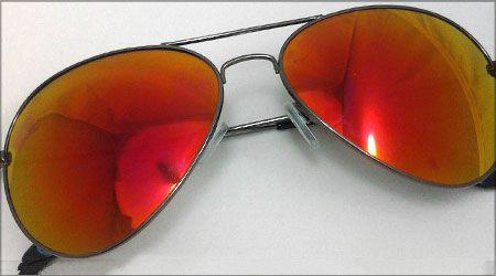 عینک آفتابی شیشه آتشی