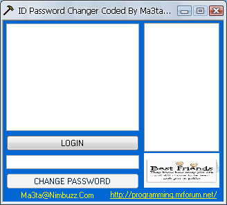 password id fl00d changer  Rfdg6548hrhr