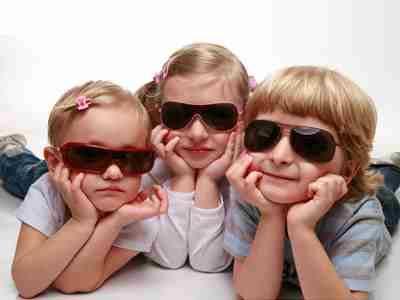 خرید عینک آفتابی بچه گانه