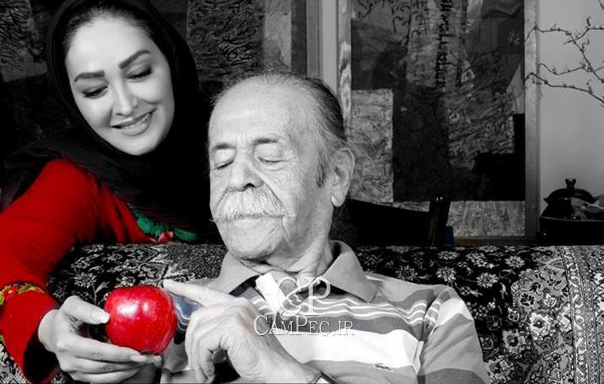 محمد علی کشاورز و الهام حمیدی