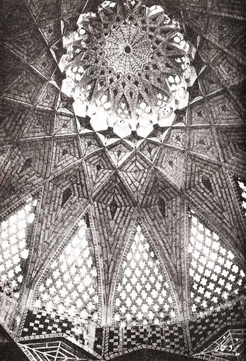 سقف بقعه سید جلیل
