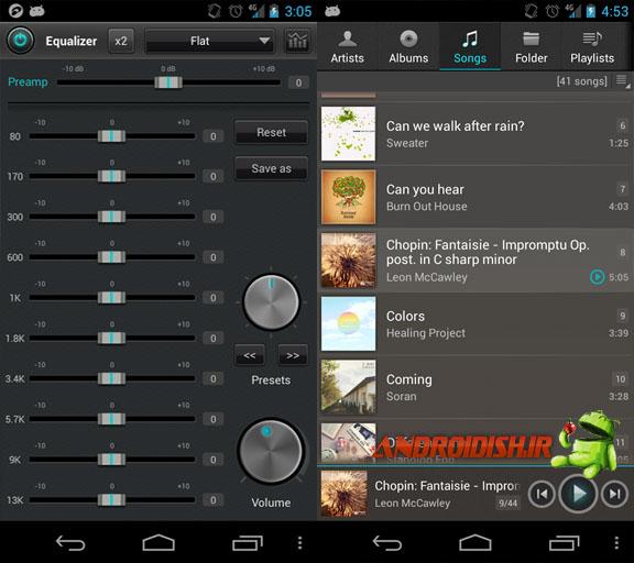 دانلود موزیک پلیر jetAudio Music Player Plus 3.2.2