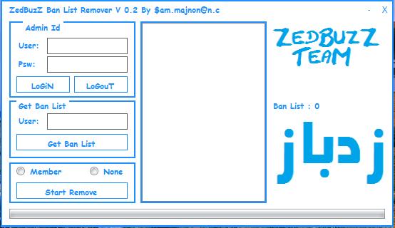 Zedbuzz Ban List Remover V 0.2 Zb_ban