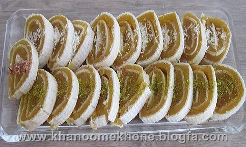 حلوا در نان میکادو