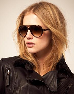 خرید عینک ریبن کت قهوه ای