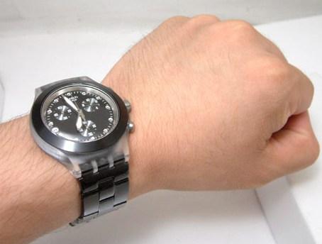 ساعت سواچ مشکی