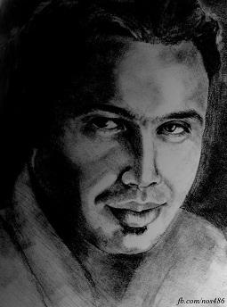نقاشی چهره چاوشی