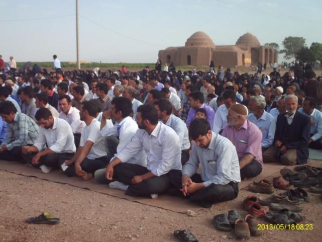 نماز عید فطر چشام