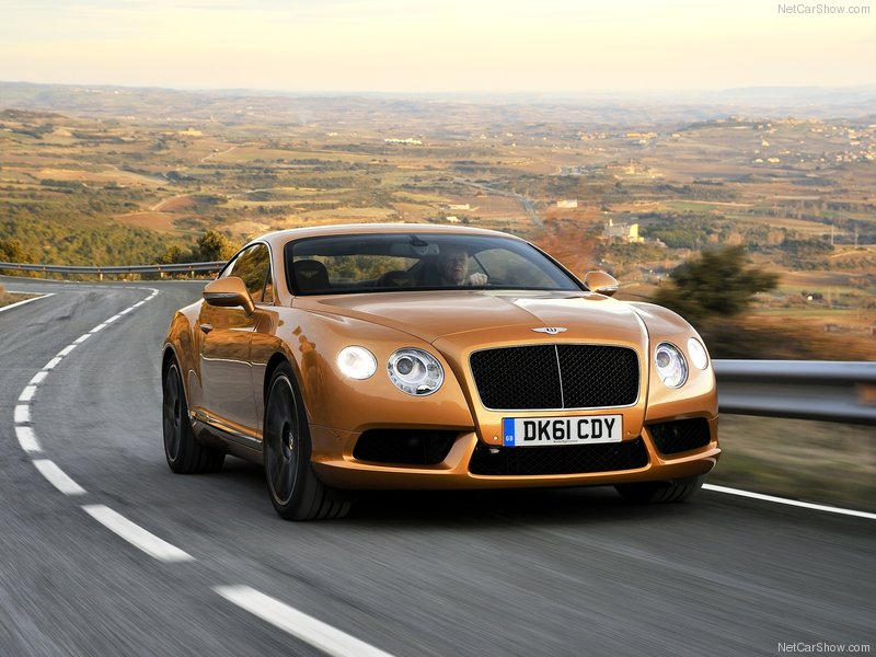 تصاویری از Bentley Continental GT V8
