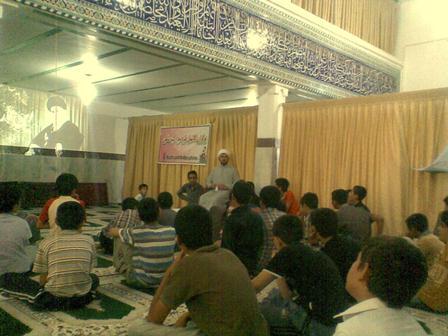 سریش آباد مسجد امام حسین علیه السلام بچه محل حاج آقای حیدری