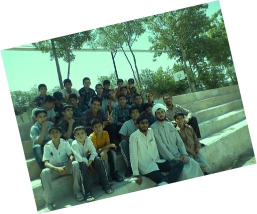 حاج آقای محمد حیدری و سجاد کاوه همراه با بچه های سریش آباد