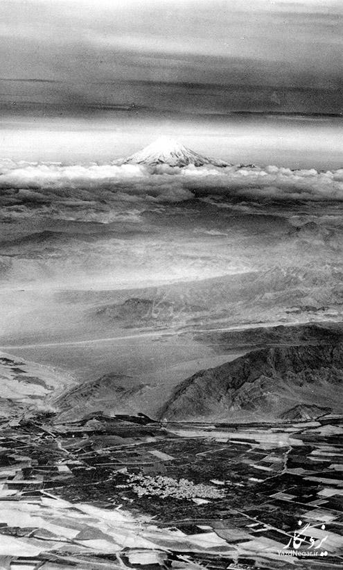 عکس هوایی دماوند