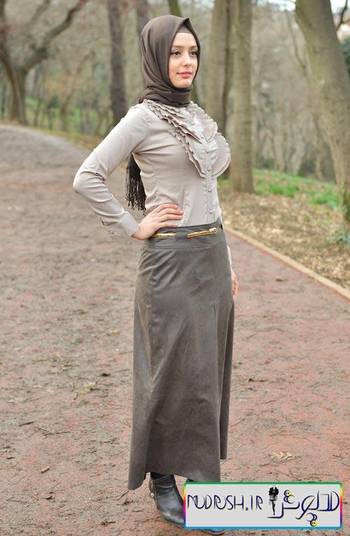 مدل دامن بلند دخترانه