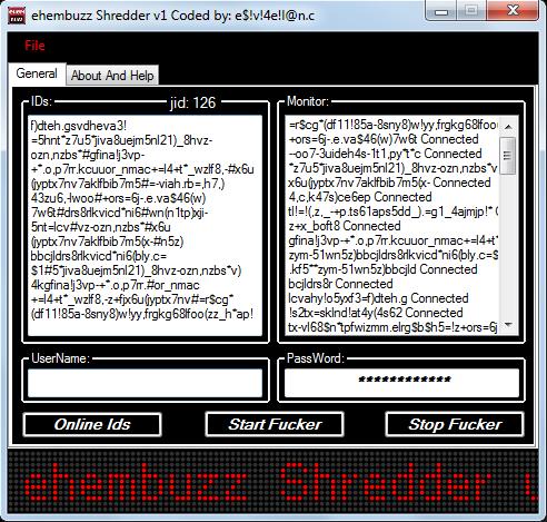 ehembuzz Shredder v1 coded by e$!v!4e!l@n.c Ehembuzz_shredder_v1