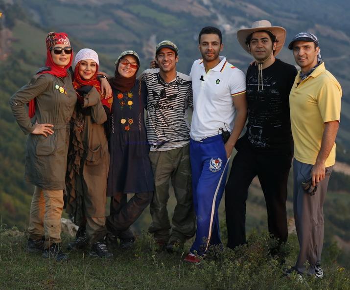 سیروان خسروی - سریال  رالی ایرانی