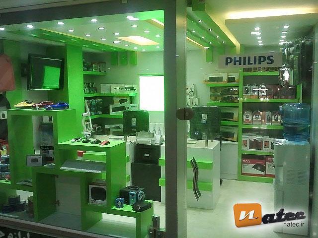 طراحی و اجرای مغازه ی لوازم کامپیوتر