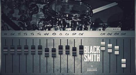 دانلود وی اس تی درامز Analogue Drums BlackSmith