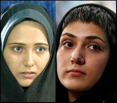 عکس   عکس های با حجاب و بي حجاب بازیگران زن ایرانی!!