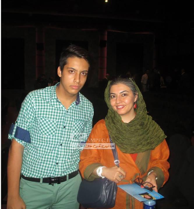 عکس های اناهیتا همتی با همسرش