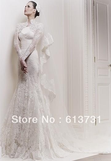 مدل لباس عروس كار شده