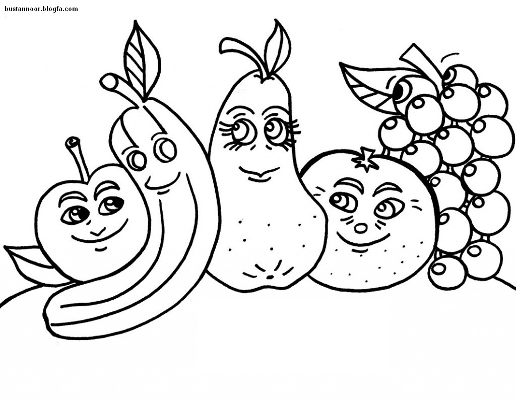 آموزش نقاشی رونالدو بوستان نور - میوه