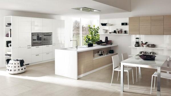 آشپزخانه های معاصر با طراحی و رنگ بندی خاص