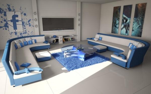 نمونه طرح اتاق نشیمن برای ایده پردازی ذهن های خلاق