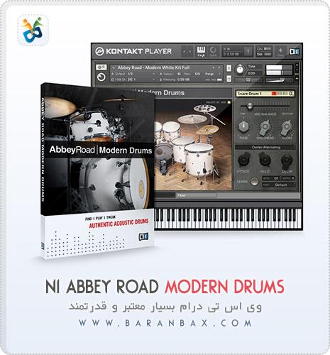 دانلود وی اس تی درام Native Instruments Abbey Road Modern Drummer