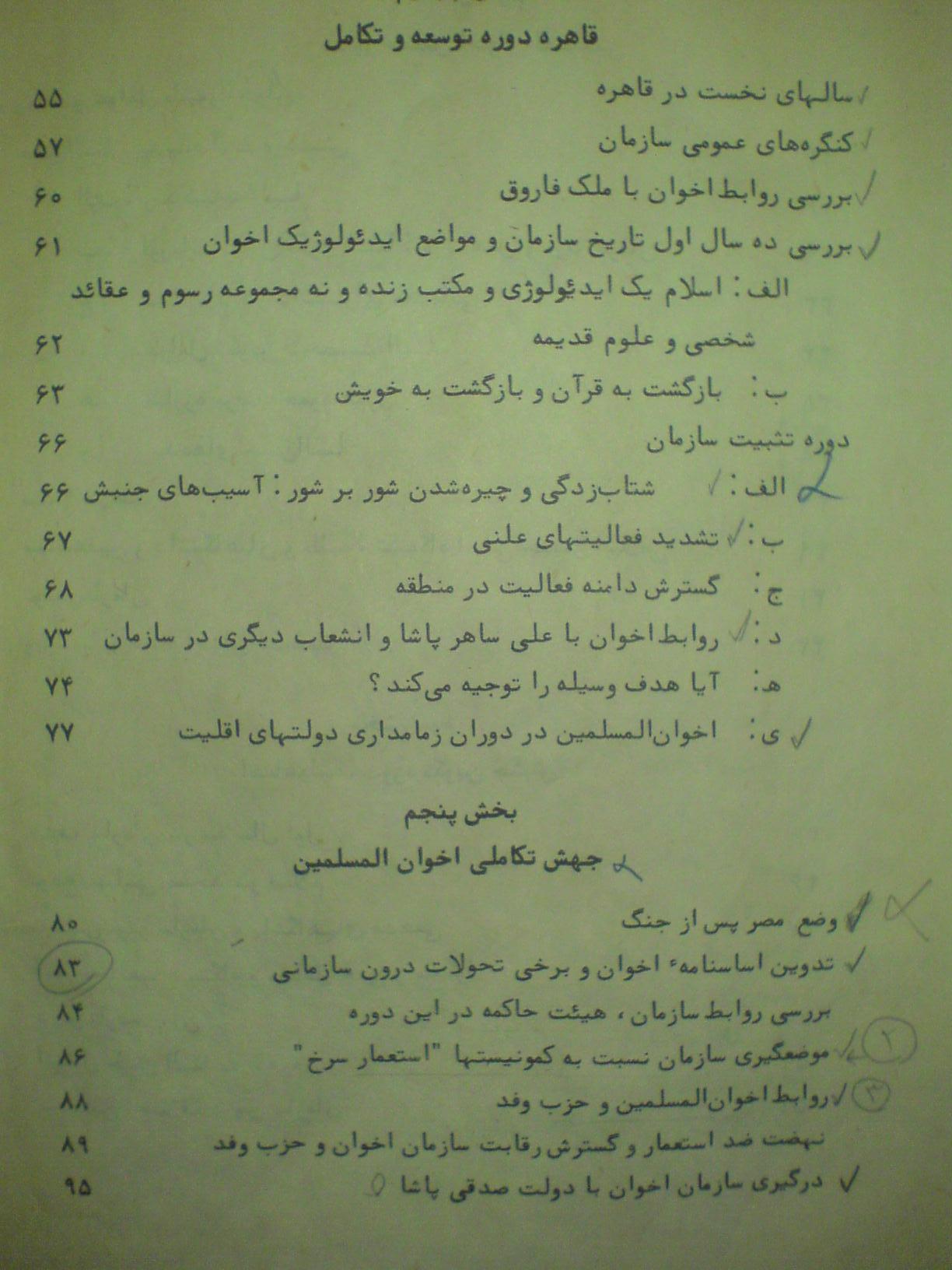 شکوفه های انقلاب مصر