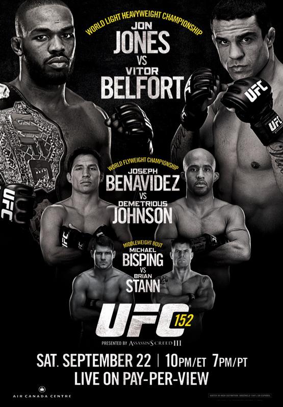 دانلود یو اف سی 152 | UFC 152:Jones vs. Belfort