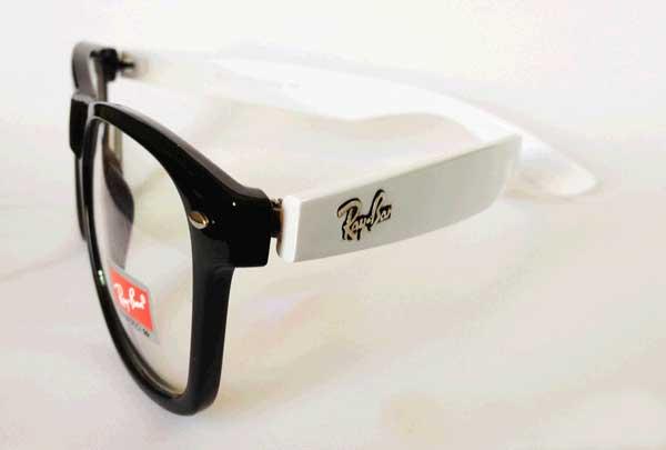 عینک ریبن اصل شیشه شفاف رنگی