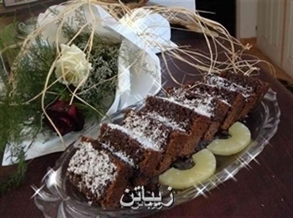 کیک شکلاتی یا کیک خیس