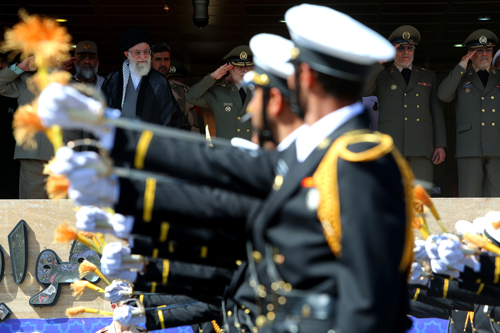 حضور فرمانده کل قوا در مراسم دانشآموختگی دانشجویان ارتش در دانشگاه ستاریهفتمین