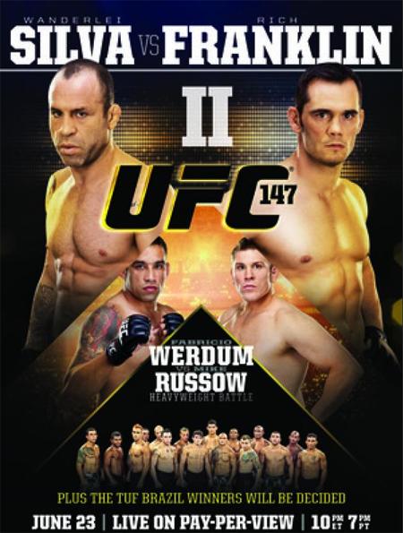 دانلود یو اف سی 147 | UFC 147: Franklin vs. Silva II