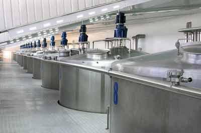 مخازن استیل صنایع غذایی