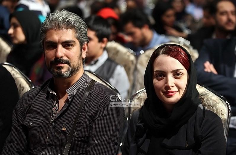 بهنوش طباطبایی و همسرش مهدی پاکدل