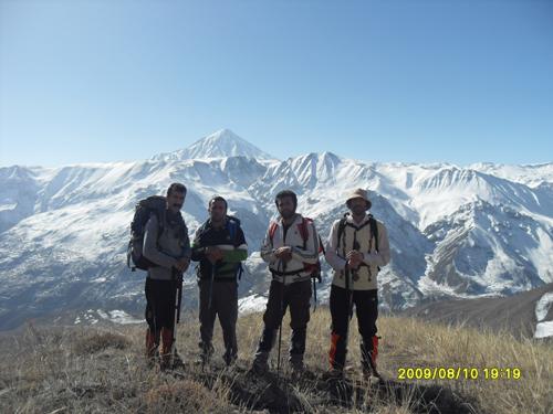 صعود به قله شیخ کوه1391